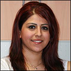 unsere Mitarbeiterin Maissam Al Dulaime